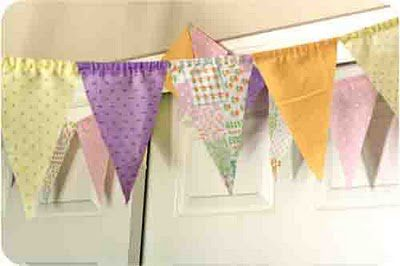 Super easy Bunting