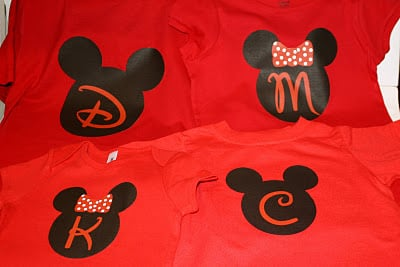 Printable heat transfer Disney t-shirts #disney - Liz on Call