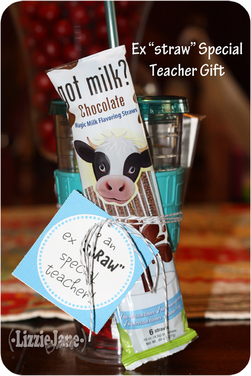 "ex""straw"" special #teacher #gift tags"