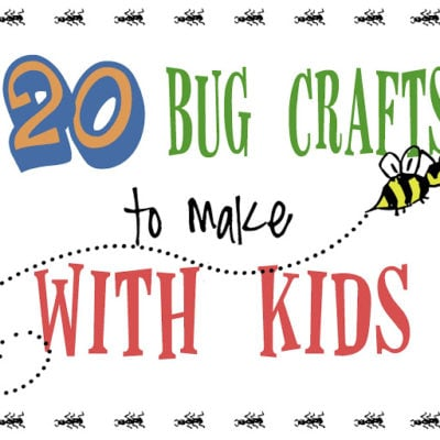 20 bug crafts to make