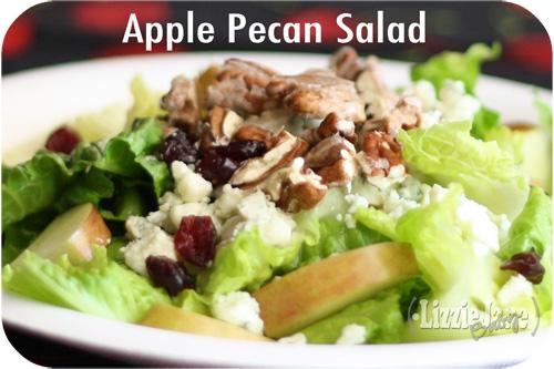 apple pecan salad #summer #salad light and sweet
