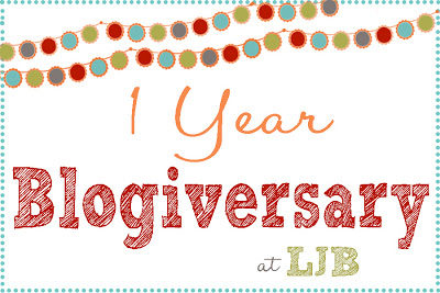 1 Year Blogiversary!!
