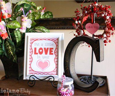 Valentine's Entry Way