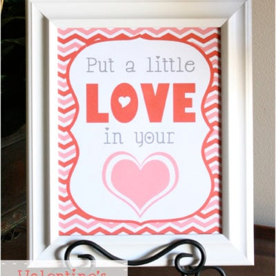 Valentine's Love Printable