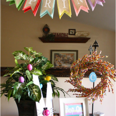 Easter Entryway