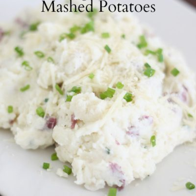 Tasty Tuesday – Roasted Garlic & Parmesan Mashed Potatoes