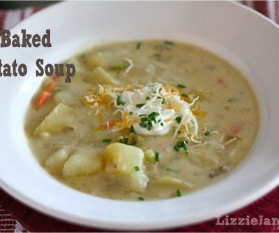Tasty Tuesday – Baked Potato Soup