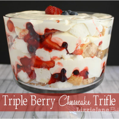 Tasty Tuesday – Triple Berry Cheesecake Trifle