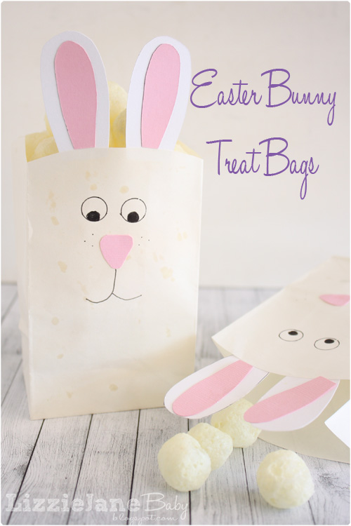 Bunny treat bags liz on call easter bunny treat bags negle Gallery