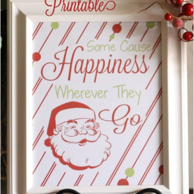 Some Cause Happiness Printable