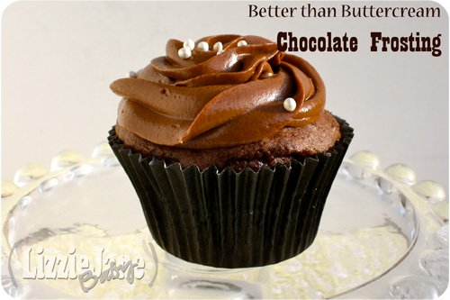This better than buttercream chocolate frosting is my favorite chocolate frosting recipe