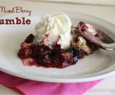 Tasty Tuesday – Mixed Berry Crumble