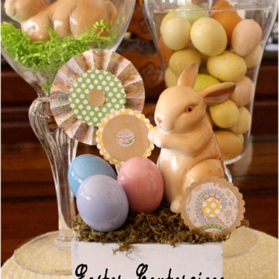 Easy Easter Centerpiece