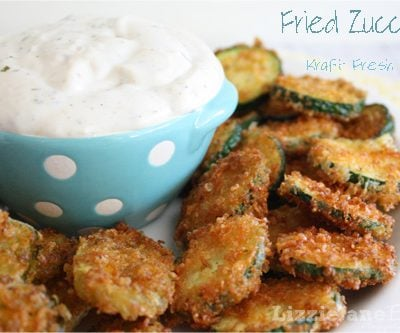 Tasty Tuesday – Fried Zucchini with Kraft Fresh Take