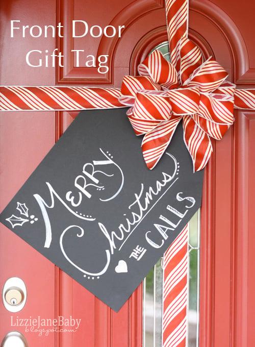 Front Door Gift Tag 1