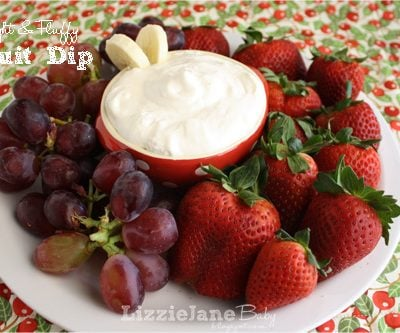 Tasty Tuesday – Light & Fluffy Fruit Dip