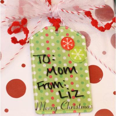 Reusable Gift Tag