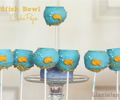Tasty Tuesday – Goldfish Bowl Cake Pops