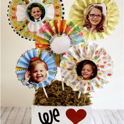 Mother's Day Gift – Grandma's Paper Bouquet