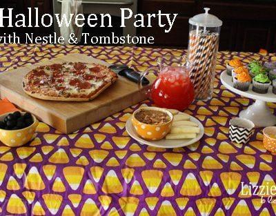 Family Halloween Party made easy with Nestle & Tombstone