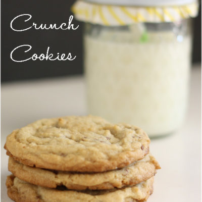 Tasty Tuesday – Heath Crunch Cookies