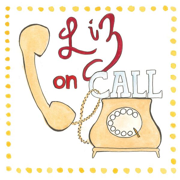 Liz On Call Header watercolor