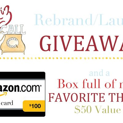 Liz on Call Rebranding Blog Launch & Giveaway