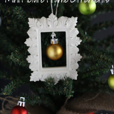 Picture Frame Mini Ornaments