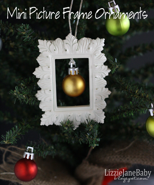 Mini Picture Frame Ornament 1