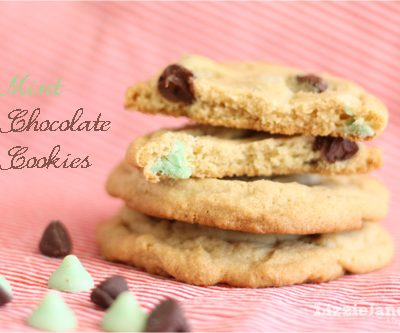 Tasty Tuesday – Mint Chocolate Chip Cookies