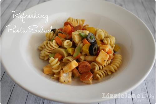 Classic pasta salad recipe.  A great side dish - lizoncall.com