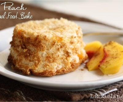 Tasty Tuesday – Peach Angel Food Cake