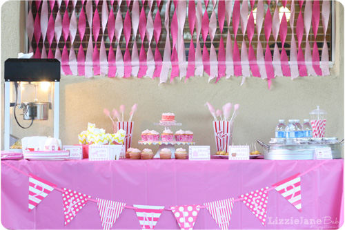 Pink Carnival Birthday Party - Liz on Call