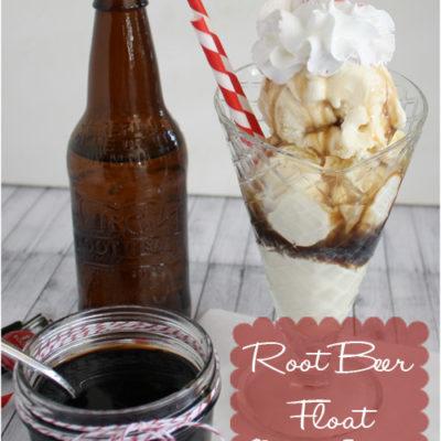 Tasty Tuesday – Root Beer Float Sundae