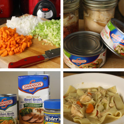 Chicken Noodle Soup Plus 3 Tips for Quick Fall Soups
