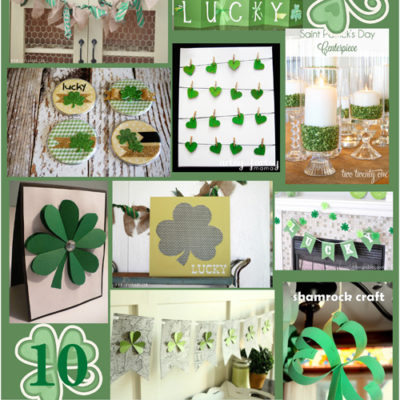 10 last minute St. Patty's Day Projects to Make