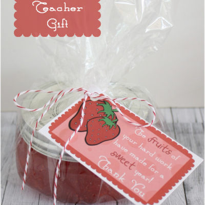 "Thanks for a ""Sweet"" Year – Teacher Gift"