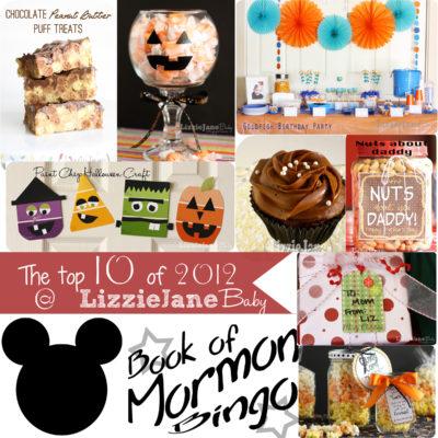 LJB Top 10 Recipes/Projects of 2012