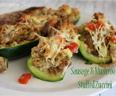 Tasty Tuesday – Stuffed Zucchini Boats