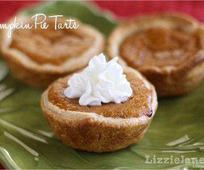 Tasty Tuesday – Pumpkin Pie Tarts