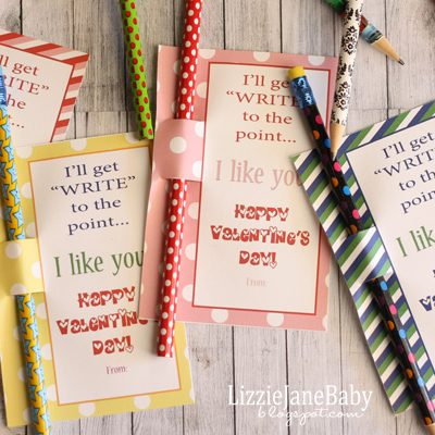 """Write"" to the Point – Candy Free Valentines"