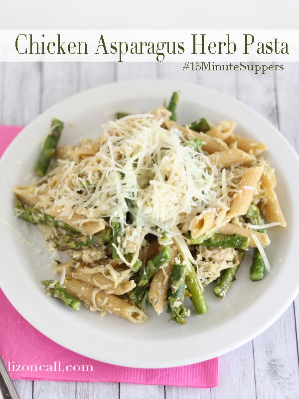 Chicken Asparagus Herb Pasta 1
