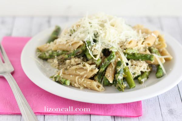 Chicken Asparagus Herb Pasta 2