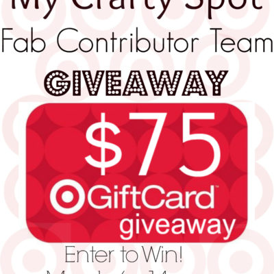 My Crafty Spot Contributors Giveaway