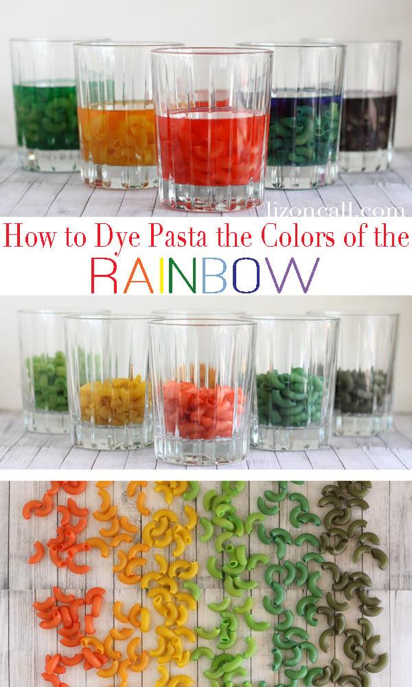Dyed Pasta 1