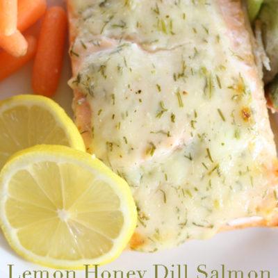 Lemon Honey Dill Salmon #15MinuteSuppers