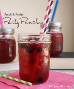 Fresh And Fruity Party Punch Recipe