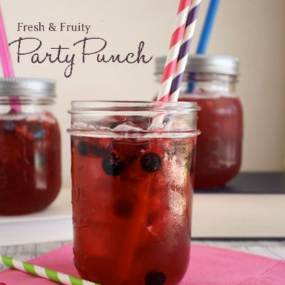 Fresh & Fruity Party Punch Recipe