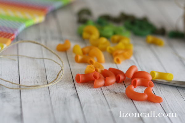 Pasta Necklace & Bracelet 3