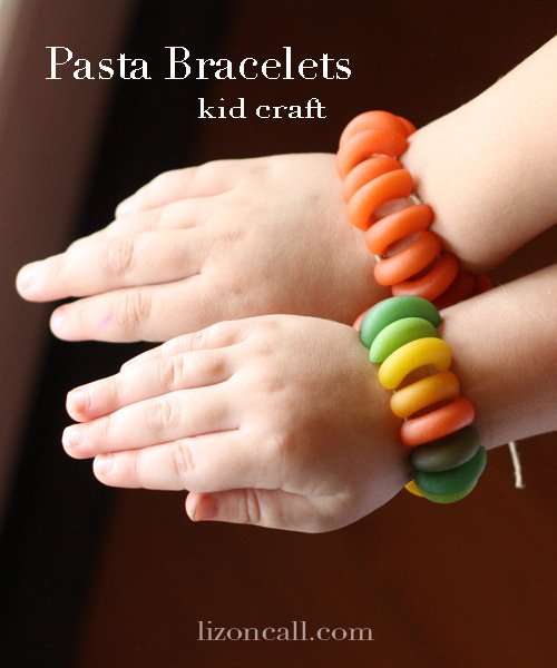 Pasta Necklace & Bracelet 8